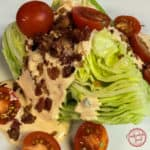 The BLT Wedge Salad with Chipotle Ranch Dressing