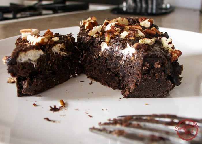 Rich and dense Mississippi Mud Cake recipe.