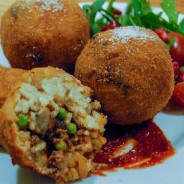 Arancini - sicilian risotto balls
