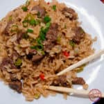 Super Easy Chinese Beef and Rice