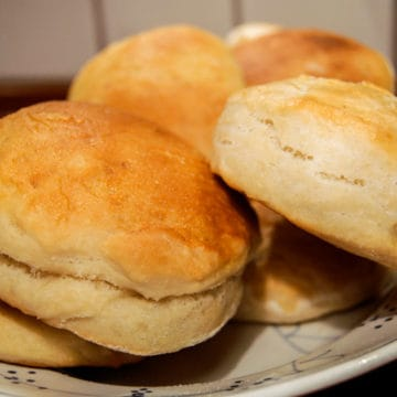Super simple yeast biscuits