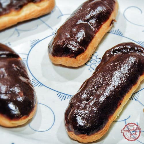 Traditional French Chocolate Eclairs (Eclairs au Chocolat)  2