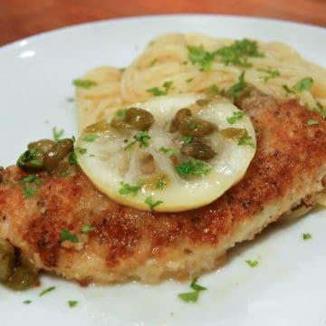 Zesty chicken piccata recipe