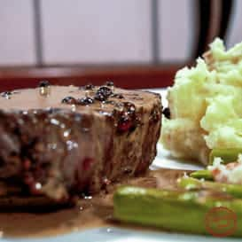 Steak au Poivre 1