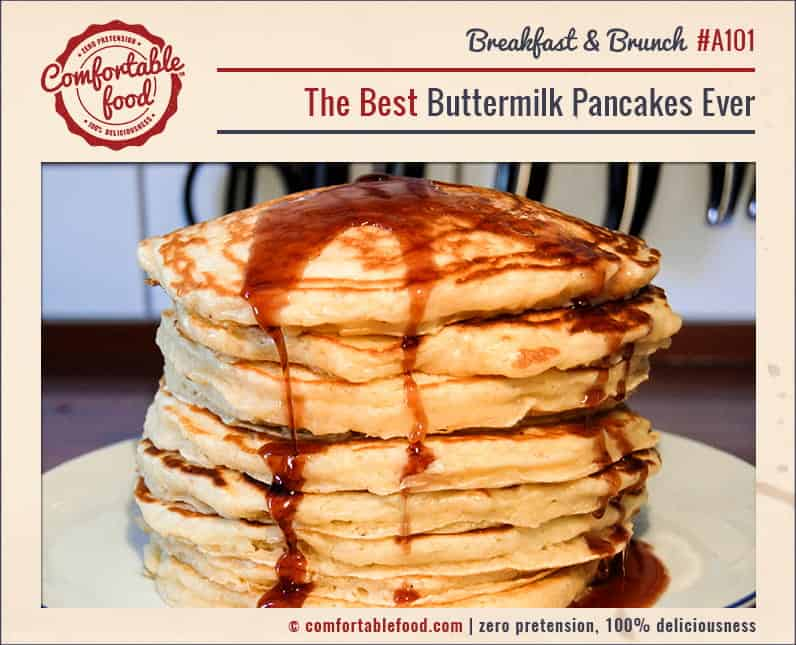 The Best Buttermilk Pancakes Ever 1