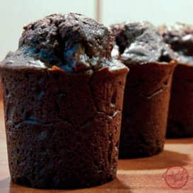 Very Chocolatey Brownie Muffins 8