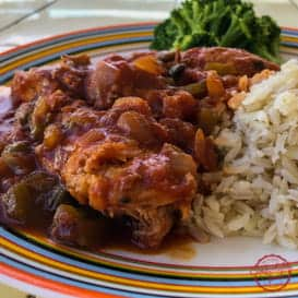 Classic, Delicious Chicken Cacciatore & Video 4