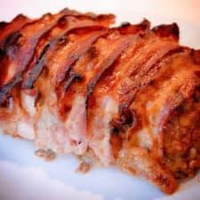 Easy delicious bacon meatloaf