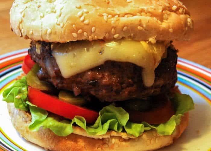 The not so veggie burger website