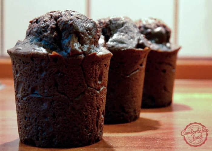 Very Chocolatey Brownie Muffins 1