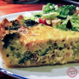 Broccoli and Cheese Quiche from Comfortable Food.