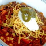 chili con carne (or not)