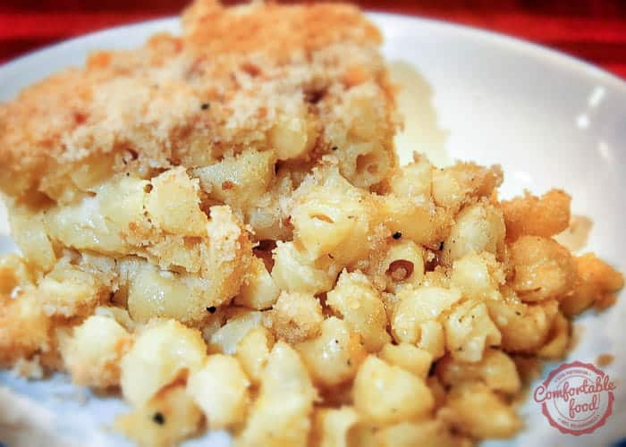 Rich and creamy easy to make mac and cheese recipe.