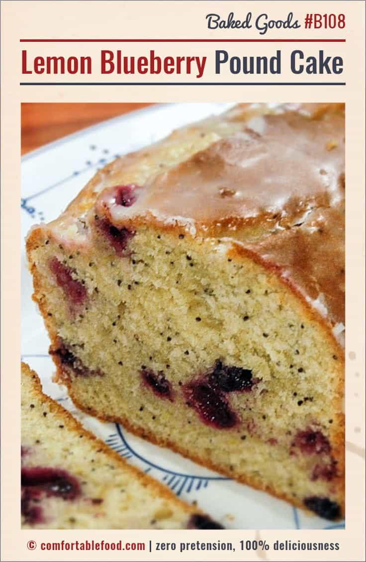 lemon-blueberry-pound-cake-2-PIN | Comfortable Food