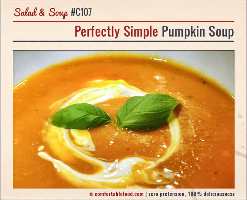 This Pumpkin Soup is super simple, super easy and super delicious.