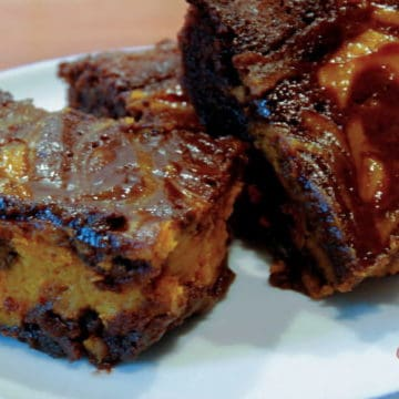 Pumpkin swirl brownies1