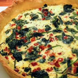 A Quiche Recipe from Comfortable Food.