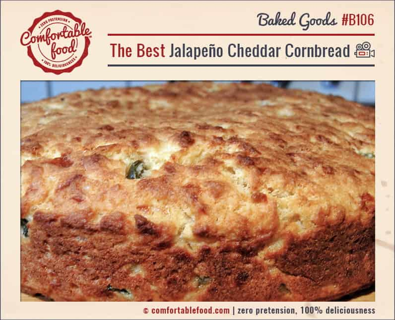 This Jalapeño Cheddar Cornbread is the perfect side bread for practically any meal.