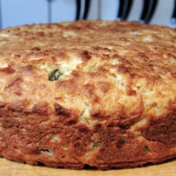 The Best Jalapeno and Cheddar Cornbread from Comfortable Food.