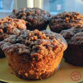Apple Cinnamon Crumble Muffins 6