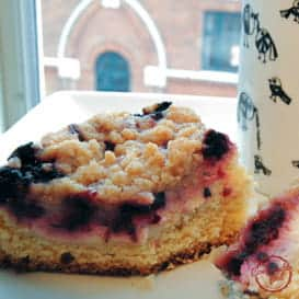 Blackberry Cream Cheese Coffee Cake 1