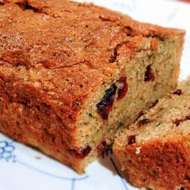 Cranberry Orange Zucchini Bread 5