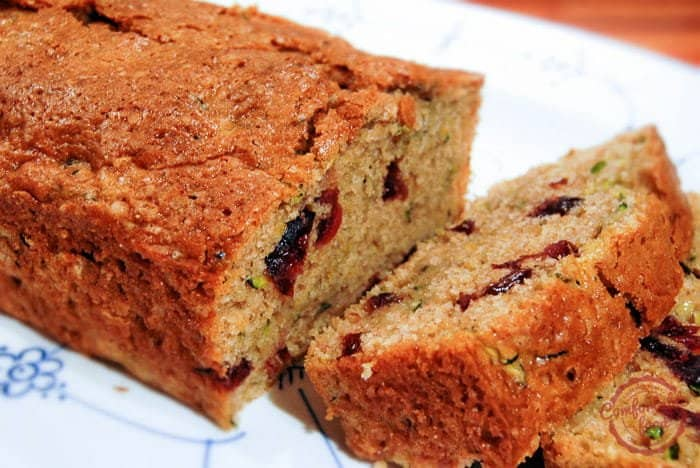 Cranberry Orange Zucchini Bread 1