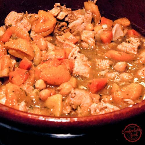 Flavorful and delicious Moroccan Chicken.