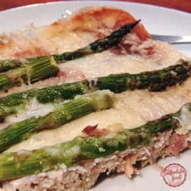 A recipe for classic, simple Prosciutto and Asparagus Strata.