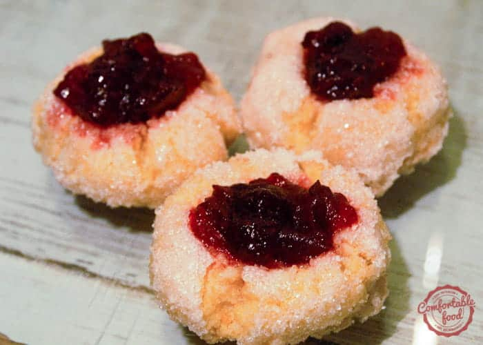 Cranberry Orange Thumbprint Cookies 1