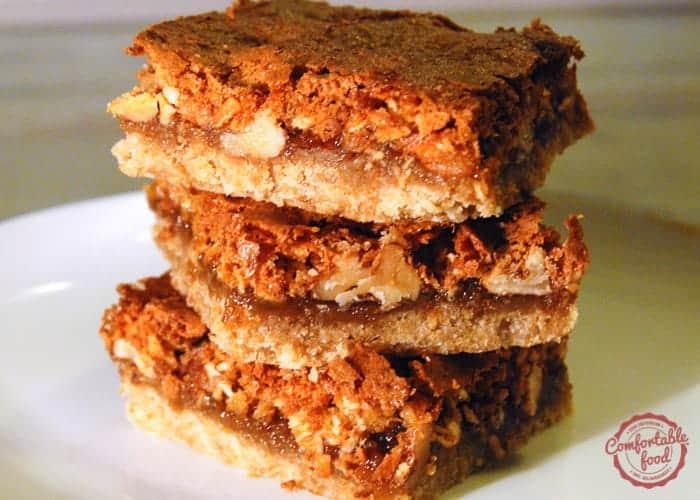 English Cherubs Bar Cookies 1