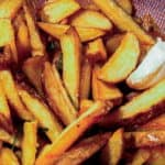 Italian Style French Fries with Garlic and Rosemary