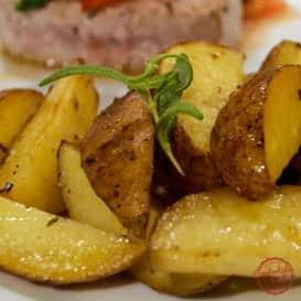 Simple and easy roasted potato recipe.
