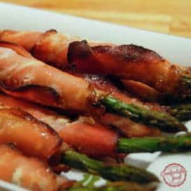 Prosciutto Wrapped Asparagus 4
