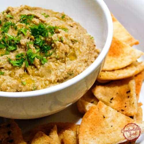 A very delicious lentil hummus recipe.