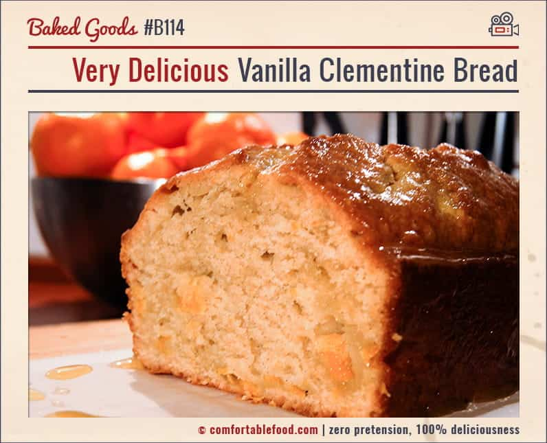 This Clementine Bread is super easy to make and it's SO delicious.