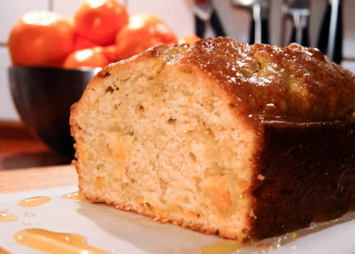 A Very Delicious Vanilla Clementine Bread from Comfortable Food.