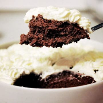 Quick and simple chocolate mousse
