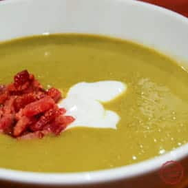 Absolutely Delicious Pea Soup 1