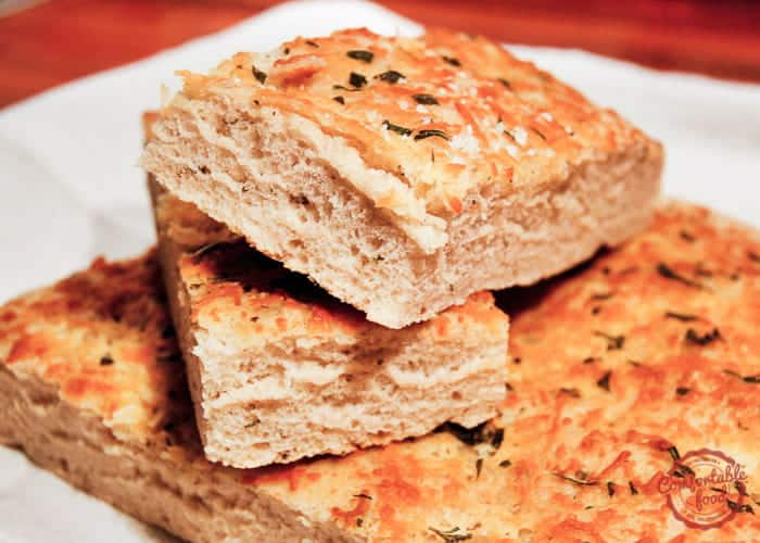 Focaccia with Herbs and Parmesan 1