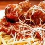 Italian Meatballs (and Spaghetti)
