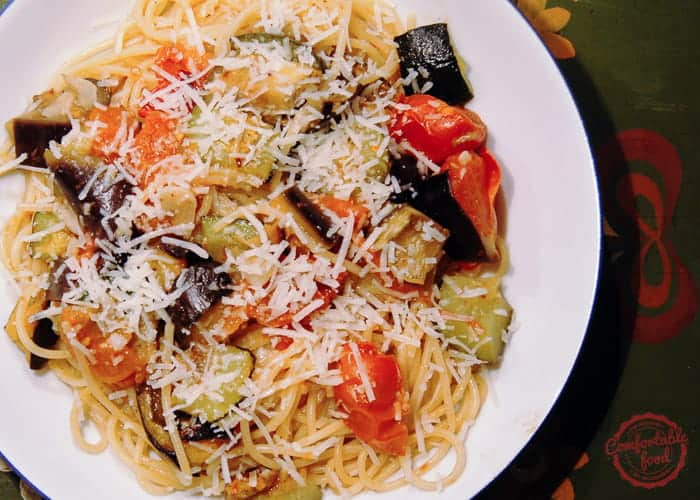 Super Simple Pasta with Roasted Vegetables 1