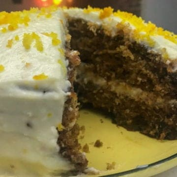 A recipe for the best carrot cake ever.