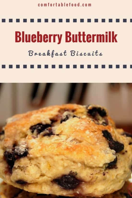 Blueberry Buttermilk Breakfast Biscuits 1
