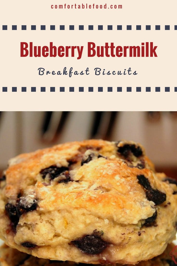 Blueberry buttermilk biscuit recipe.