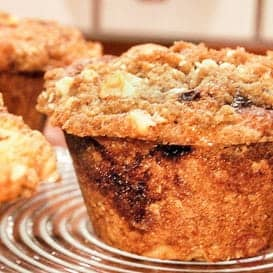 Sour Cream Coffee Cake Muffins 5