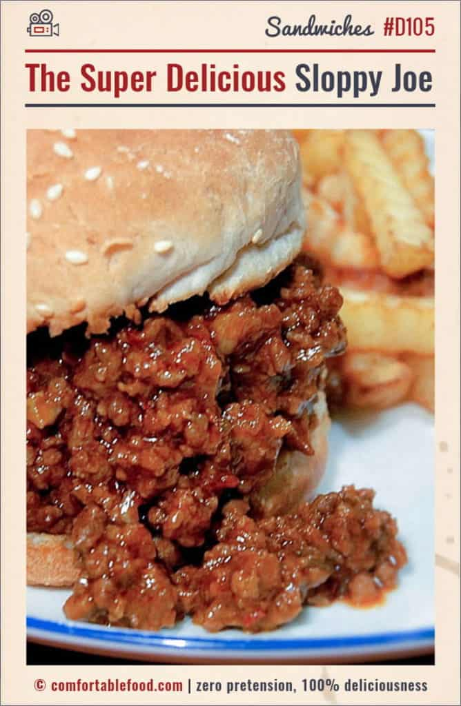 The Best Sloppy Joe Recipe Ever.