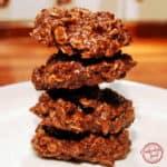 Super Easy Nutella No Bake Cookies