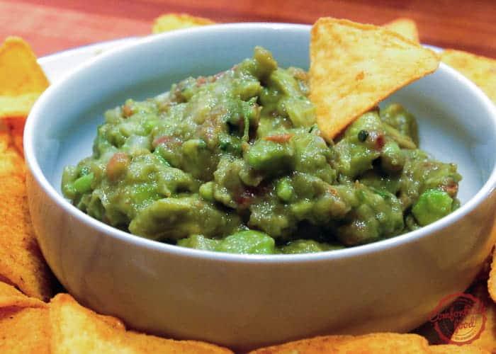 Easy traditional Mexican guacamole recipe.