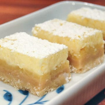 Zesty lemon bars with cheesecake topping2